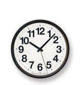 Zegar ścienny clock A czarny - małe zdjęcie