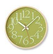 Zegar ścienny AY Clock L zielony - małe zdjęcie