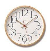 Zegar ścienny AY Clock L biały - małe zdjęcie