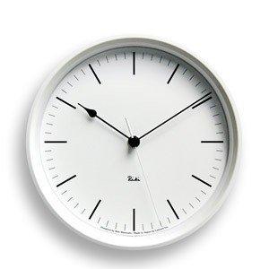 Zegar ścienny Riki Steel Clock z indeksem