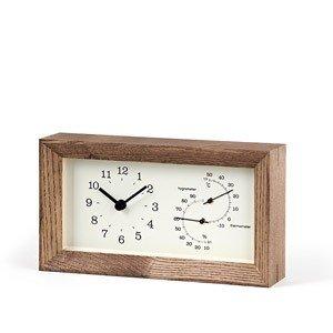 Zegar z termometrem i higrometrem Frame