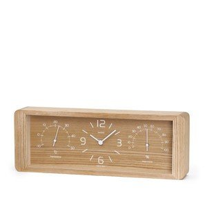 Zegar z termometrem i higrometrem Yokan