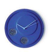 Zegar ścienny Flow niebieski - małe zdjęcie