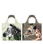Torba LOQI Anima Zebra & Giraffe Bag - małe zdjęcie