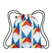 Plecak LOQI Geometric Triangles - małe zdjęcie