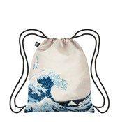 Plecak LOQI Museum Hokusai The Great Wave - małe zdjęcie