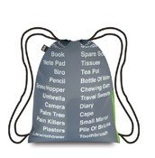 Plecak LOQI Type Things to pack - małe zdjęcie