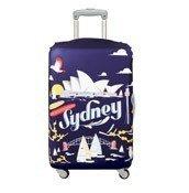 Pokrowiec na walizkę LOQI Urban Sydney - małe zdjęcie
