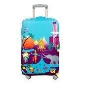 Pokrowiec na walizkę LOQI Urban Thailand - małe zdjęcie
