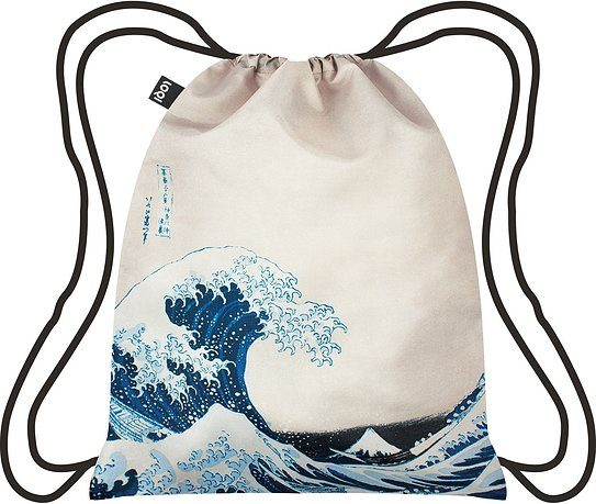Plecak LOQI Museum Hokusai The Great Wave