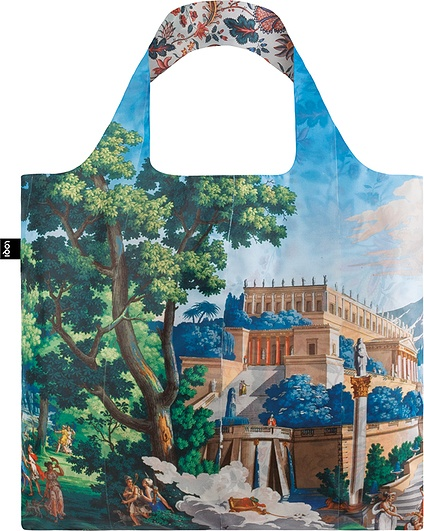 Torba Duo Bag LOQI x MAD Landscape & Indian