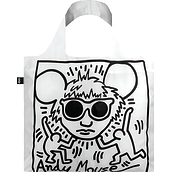Torba LOQI Museum Keith Haring Andy Mouse - małe zdjęcie