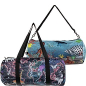 Torba LOQI Weekender dwustronna Kristjana S Williams Interiors World Map & Reef