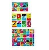 Saszetki Zip Pockets 3 szt. Games - małe zdjęcie