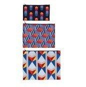 Saszetki Zip Pockets 3 szt. Geometric - małe zdjęcie