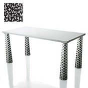 Stół Flare 160 x 80 cm wzór 4 - małe zdjęcie