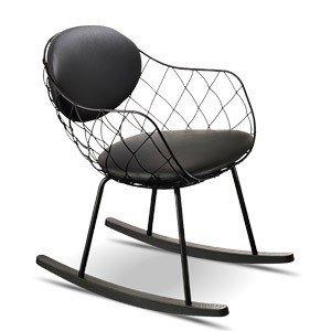 Fotel bujany Pina