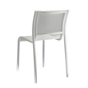 Krzesło Paso Doble białe rama lakierowana