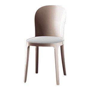 Krzesło przezroczyste brązowe Vanity