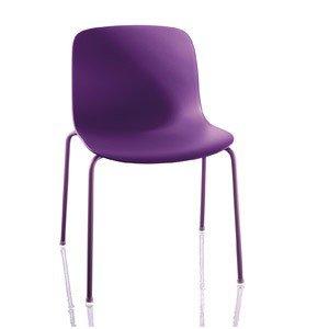 Krzesło Troy Polipropylen lakierowana rama