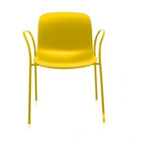 Krzesło Troy Polipropylen z podłokietnikami