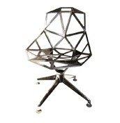 Krzesło Chair_One podstawa obrotowa czteroramienna polerowane aluminiu - małe zdjęcie