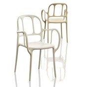 Krzesło Mila białe - małe zdjęcie