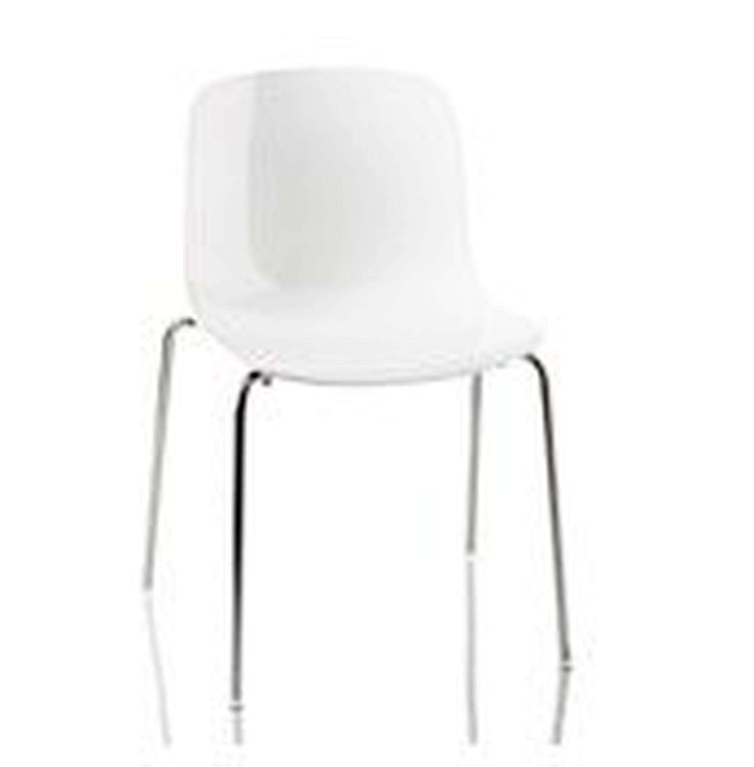 Krzesło Troy Polipropylen chromowana rama