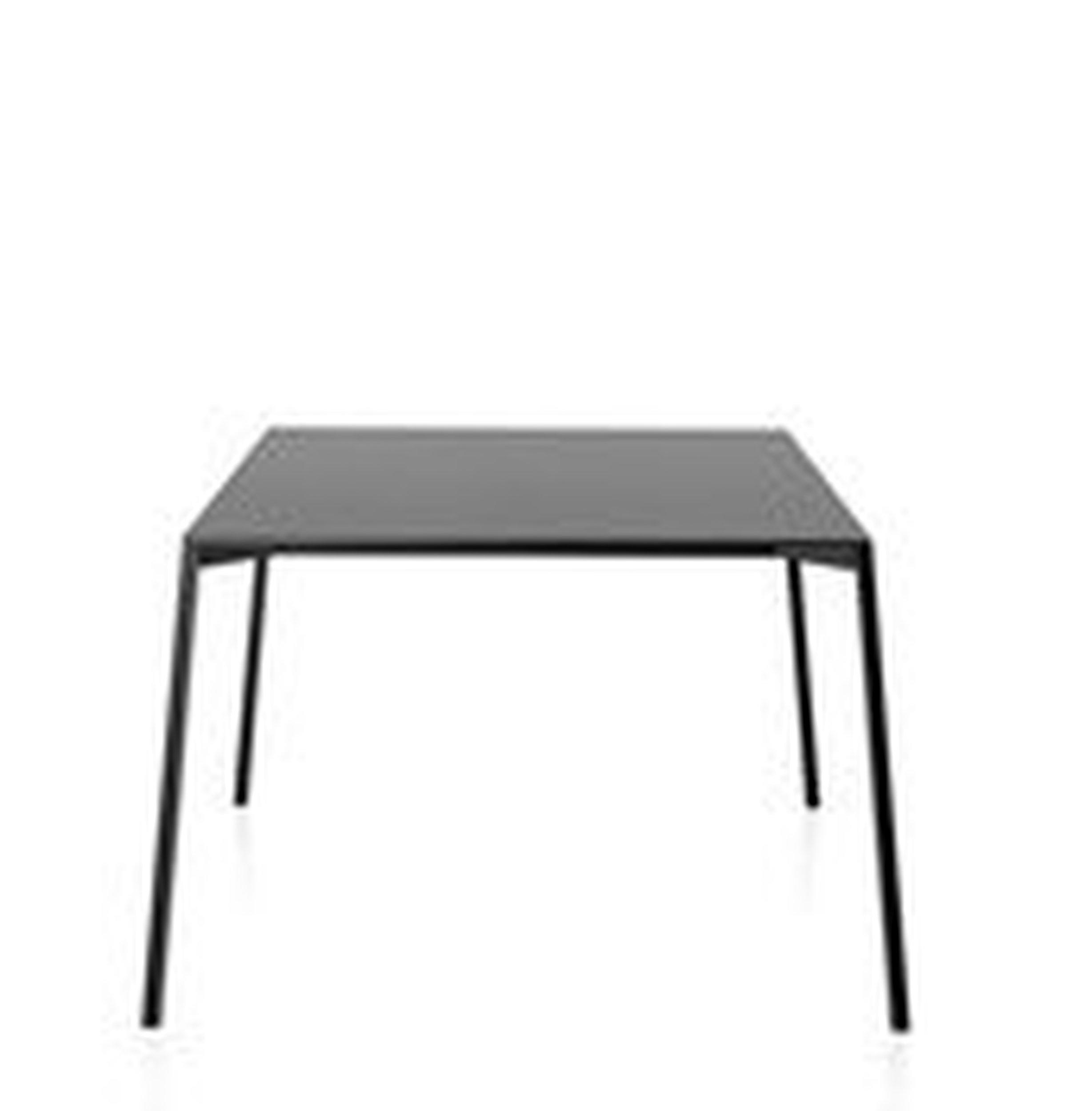 Stół Table_One 220 x 100 cm czarny blat z czarną ramą