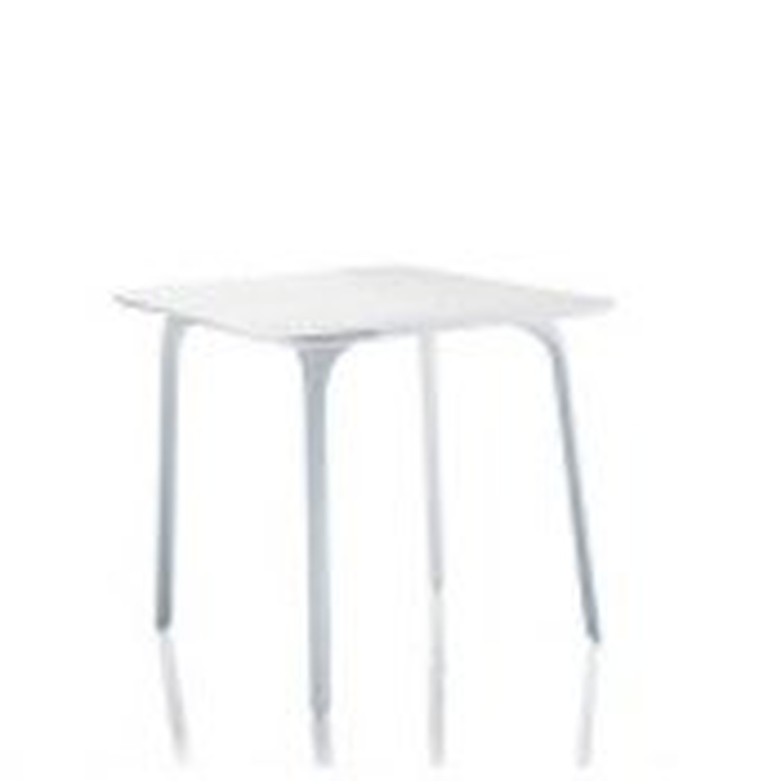 Stół First kwadratowy biały - małe zdjęcie