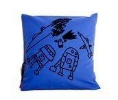 Poduszka Mała Rzecz kosmos niebieska