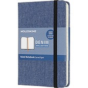 Notes Moleskine P Denim w linię antwerp blue