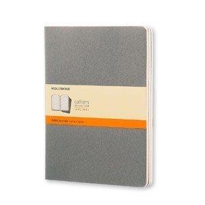 Zeszyty Moleskine Cahier Journals XL 3 szt. w linie