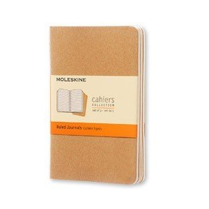 Zeszyty Moleskine Cahier Journals P 3 szt. w linie