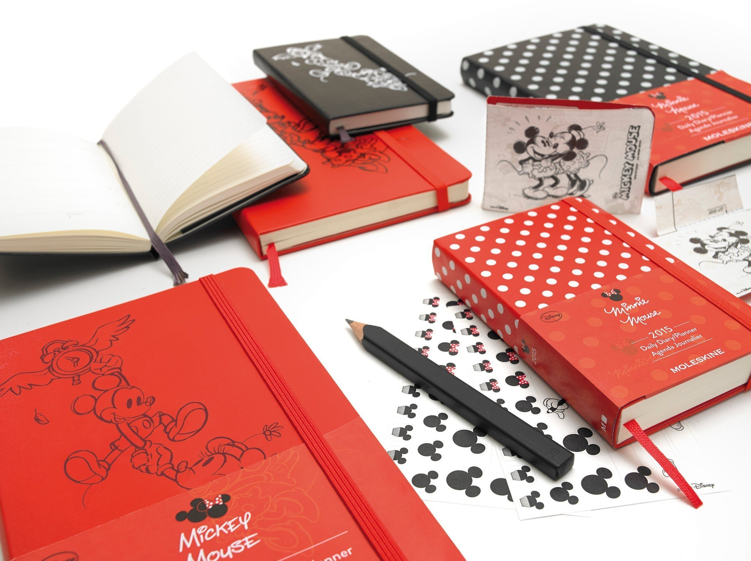 Moleskine  Mickey Mouse Minnie