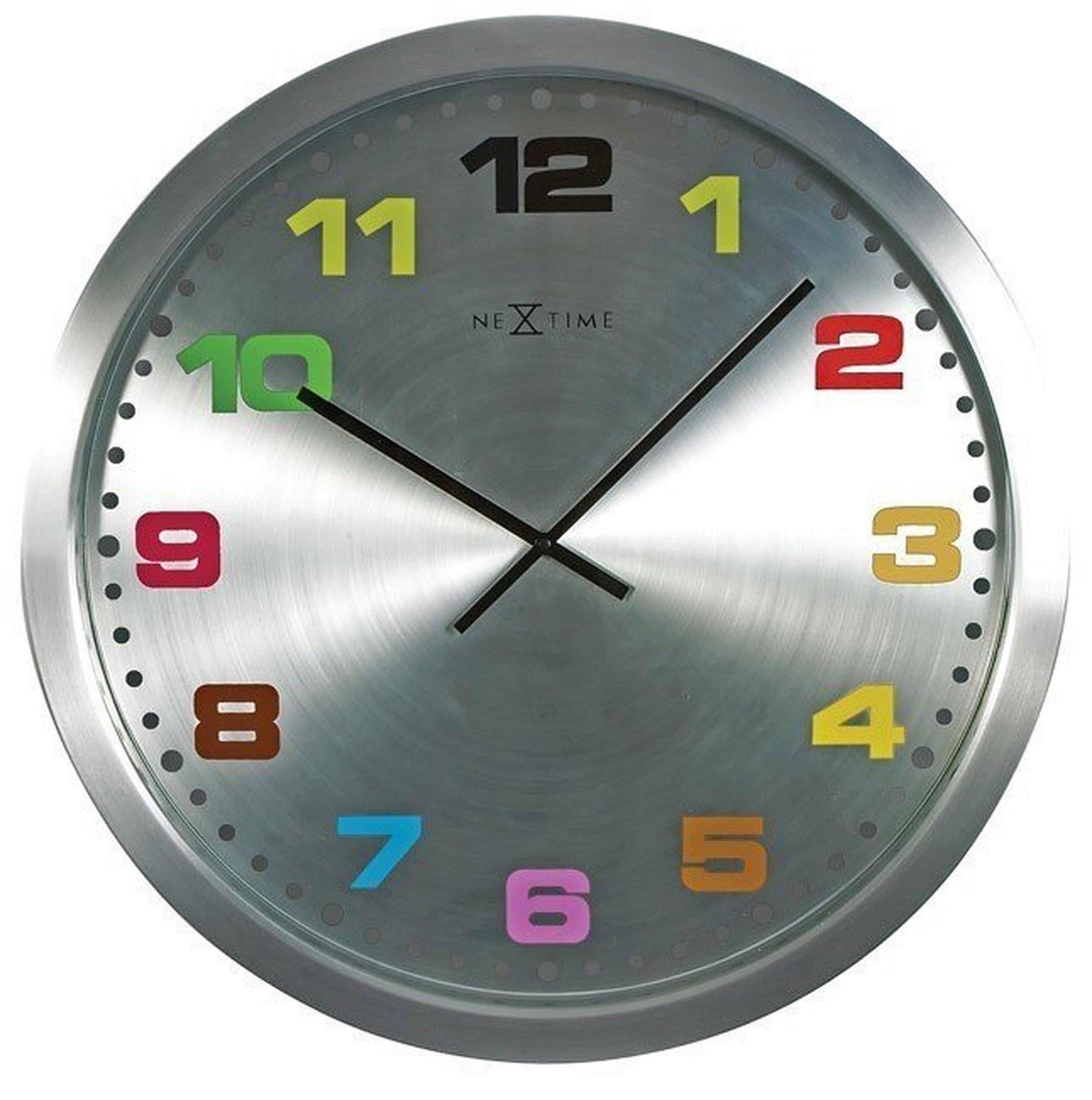 Zegar ścienny mercure kolorowy 25 cm małe zdjęcie