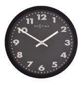 Zegar ścienny Mercure czarna tarcza