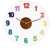 Zegar ścienny Woody kolorowy