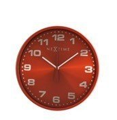 Zegar ścienny Dash czerwony