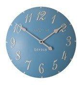 Zegar ścienny London Arabic niebieski