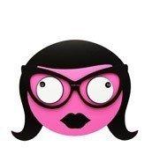 Zegar ścienny Ms Spectacles - małe zdjęcie