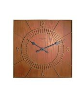 Zegar ścienny Wood Square