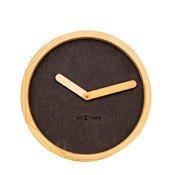 Zegar ścienny Calm brązowy - małe zdjęcie