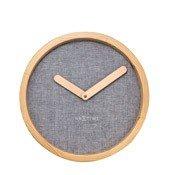 Zegar ścienny Calm szary - małe zdjęcie