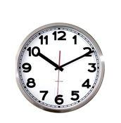 Zegar ścienny Station cyfry arabskie - małe zdjęcie