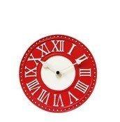 Zegar stołowy London czerwony - małe zdjęcie