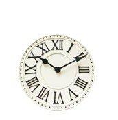 Zegar stołowy London biały - małe zdjęcie