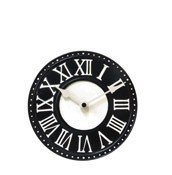 Zegar stołowy London czarny - małe zdjęcie