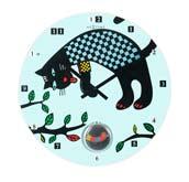 Zegar �cienny Le Chat
