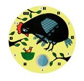 Zegar �cienny La Poule